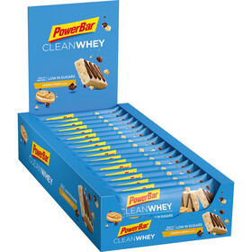 PowerBar Clean Whey Boîte de barres 18x45g, Cookies & Cream